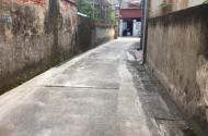 Gia đình chuyển chỗ cần bán đất Phú THị, 60m2, MT 4,6 đường ô tô   LH Thiện: O39.7237.II6