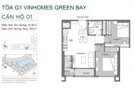 Bán căn hộ chung cư G1- 3301 Vinhomes Greenbay
