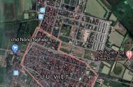 Bán đất thị trấn Trâu quỳ Gia Lâm,40,8m2, mặt tiền 4,6m,giá chỉ 1,399 tỷ