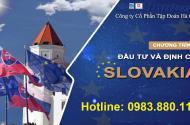 Định cư Slovakia – tiết kiệm – an toàn – nhanh chóng