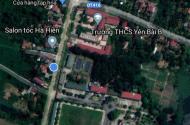 Bán đất lô góc kinh doanh mặt đường tỉnh lộ Vân Hòa, Sơn Tây, Ba Vì
