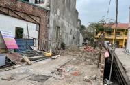 Cần bán 186m2 đất trục kinh doanh ở Thái Phù, Mai Đình, Sóc Sơn. MT 5.5m nở hậu,