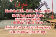 Bán đất khu Vai Réo – Phú Cát – Hòa Lạc – Hà Nội