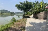 View hồ Dược Thượng gần 500m2 xây nhà vườn, nghỉ dưỡng hợp lý. Không khí trong lành mát mẻ