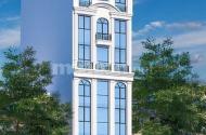 Bán nhà mặt phố Chùa Hà, 290m2, 9 tầng, m tiền 12m, tòa văn phòng cho thuê hơn 300tr/năm.